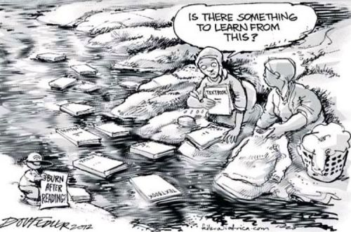 'Sold Down the River': Africartoons.com
