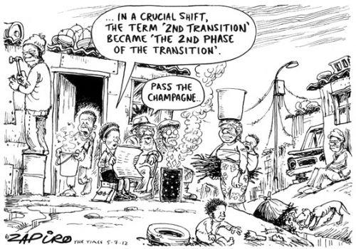 'A Seismic Shift...': Africartoons.com