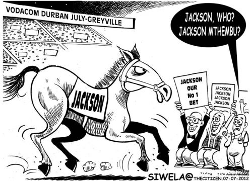 'Durban July': Africartoons.com