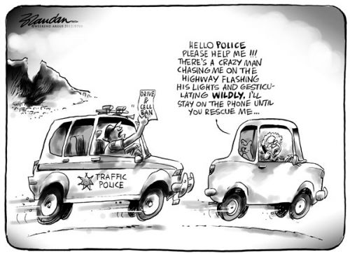 'Emergency Call': Africartoons.com