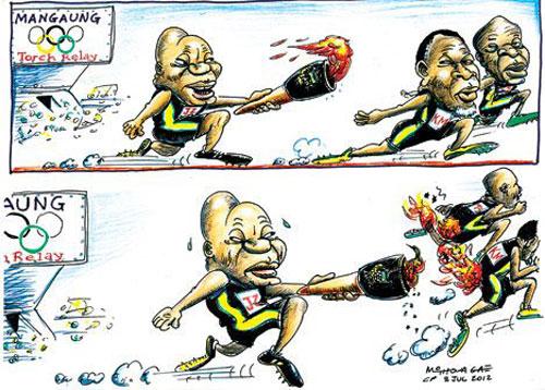 'Igniting the Presidential Race': Africartoons.com
