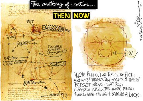 'A Vitruvian Study of Zapiro's Dicktoon ': Africartoons.com