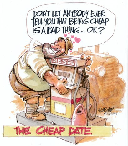 'A Cheap Date': Africartoons.com