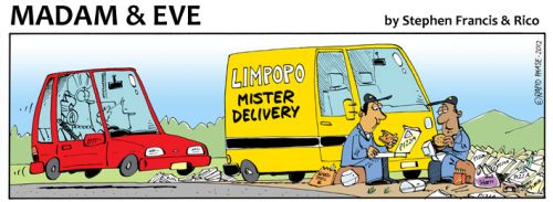 'Limpopo Deliveries': Africartoons.com