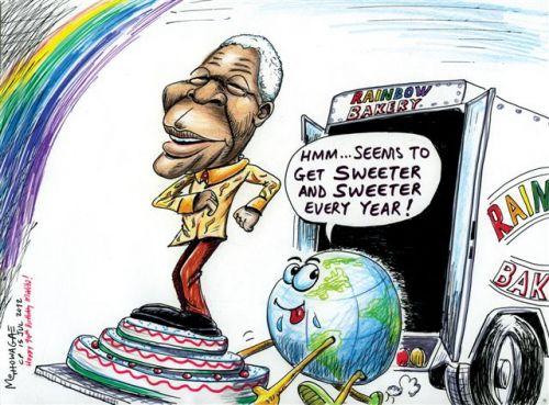 'South Africa's Sweet Spot ': Africartoons.com