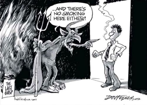 'Where there&#039;s Fire, there may not be Smoke': Africartoons.com