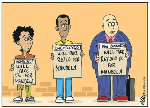 '67 For Mandela': Africartoons.com