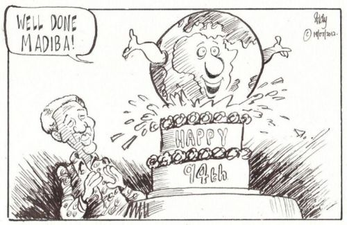 'Cake Weer': Africartoons.com