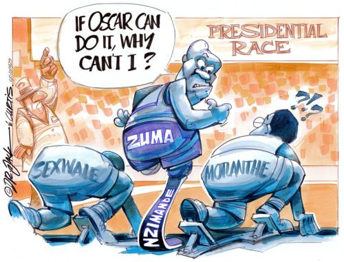 'Jacob Zuma, Blade Runner': Africartoons.com