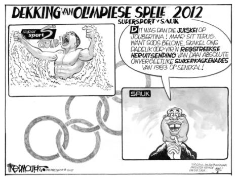 'SABC's Olympic Coverage': Africartoons.com