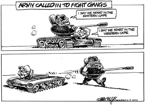 'Military Exercises': Africartoons.com