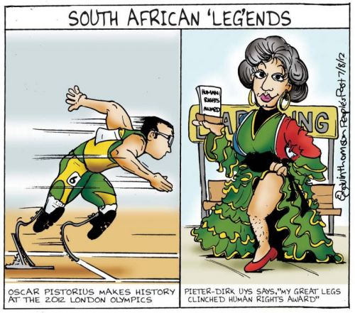 'Giving It Legs': Africartoons.com