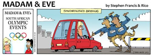 'Synchronised Bribing': Africartoons.com
