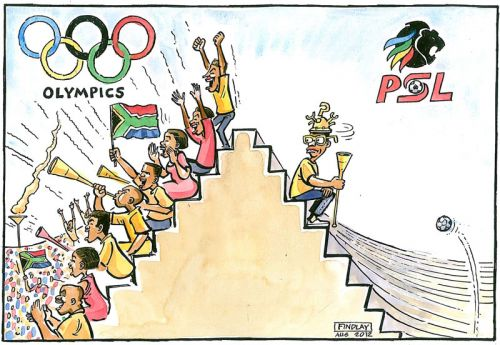'Sporting Distractions': Africartoons.com