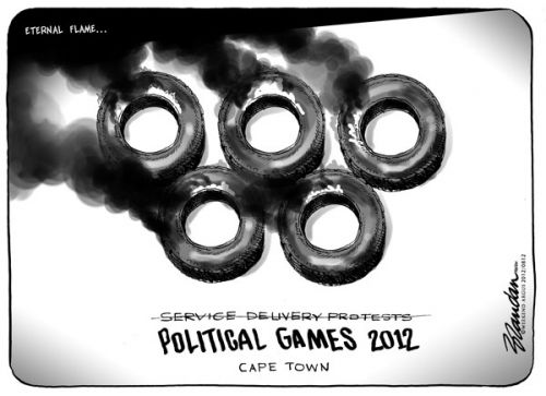 'Political Games 2012': Africartoons.com