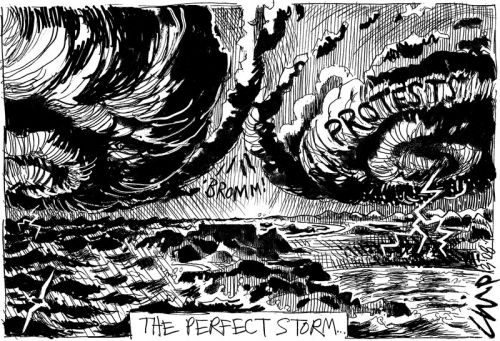 'The Perfect Storm': Africartoons.com