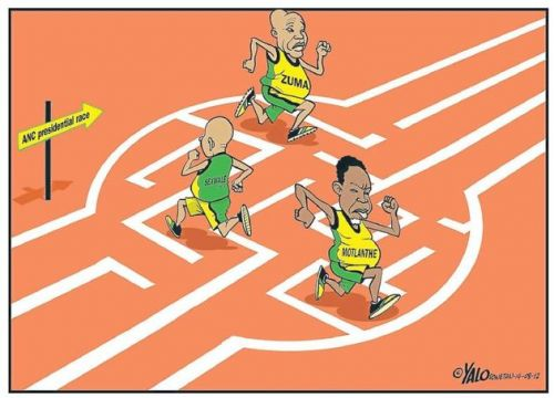'Leadership Labyrinth  ': Africartoons.com