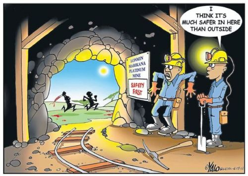 'Mine Safety': Africartoons.com