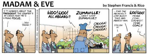 'Zuma of Zumaville': Africartoons.com