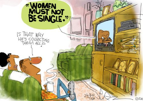 'The President on Women': Africartoons.com