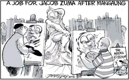 'A Job For After Mangaung': Africartoons.com