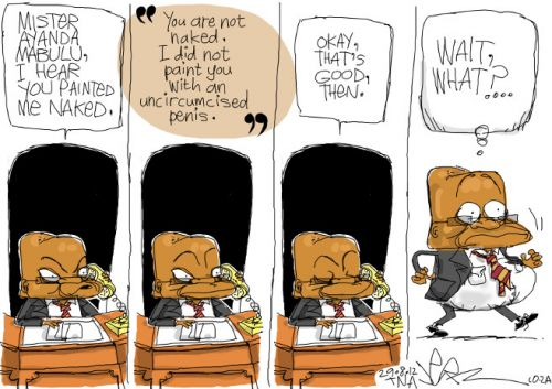 'The Naked Truth': Africartoons.com