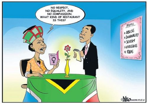 'Yalo on Women's Month ': Africartoons.com