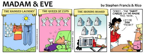 'The Madam & Eve Tarot': Africartoons.com