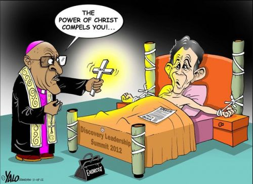 'The Exorcist': Africartoons.com