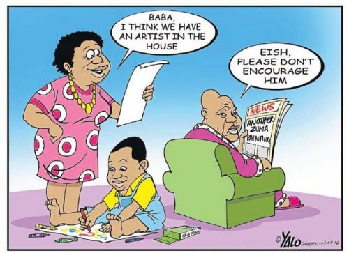 'Another Zuma Artist?': Africartoons.com