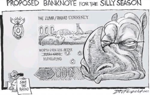 'Lost Currency': Africartoons.com