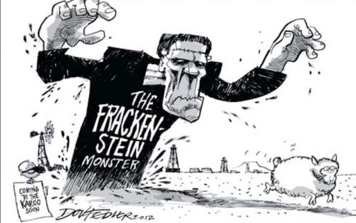 'Fedler Does Frackenstein': Africartoons.com