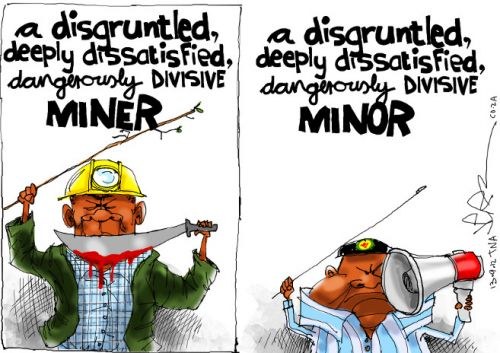 'A Minor Difference': Africartoons.com