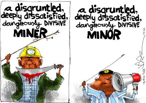 'A Minor Difference': Africartoons.com