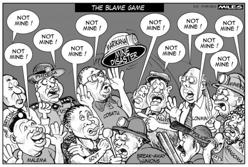 'The Blame Game': Africartoons.com