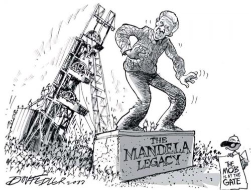 'Crashing the Madiba Legacy': Africartoons.com