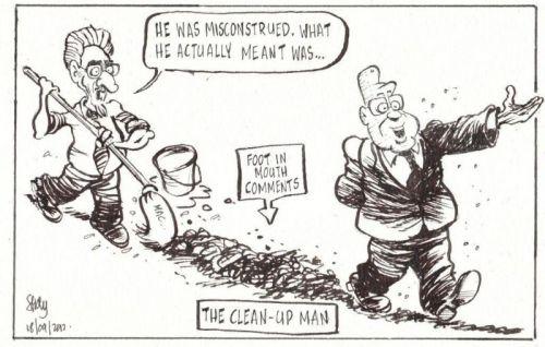 'Cleaning Up After Zuma': Africartoons.com