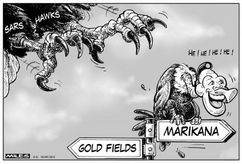 'Hawk and Vulture': Africartoons.com