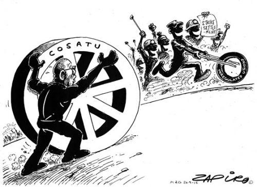'The Spare Wheel': Africartoons.com