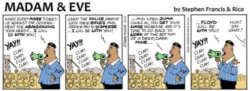 'Juju Rouses the Rabble': Africartoons.com