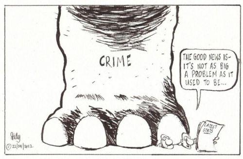 'Crime Reduction': Africartoons.com