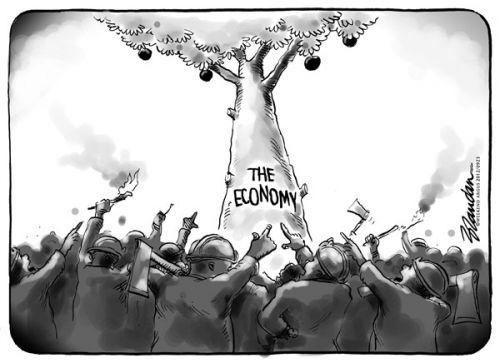 'The Fruits of their Labour': Africartoons.com