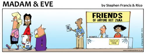 'Friends of ABZ': Africartoons.com