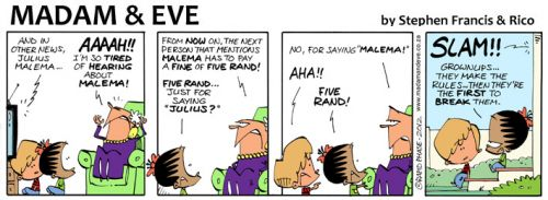 'Fine Thanks': Africartoons.com