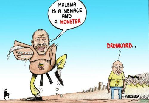 'Drunk on Power': Africartoons.com