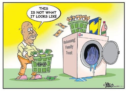 'In the Wash': Africartoons.com