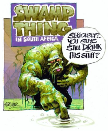 'The Swamp Thing': Africartoons.com