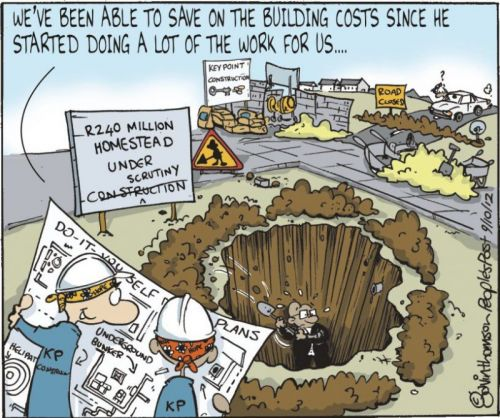'Digging a Hole...': Africartoons.com