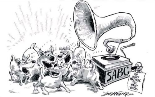 'Too Many Voices at the SABC': Africartoons.com