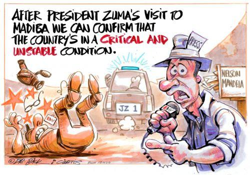 '20131120_Dr Jack and Curtis': Africartoons.com